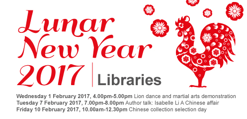 Celebrate Lunar New Year with Georges River Libraries